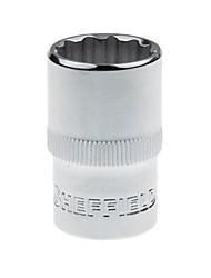 Bouclier en acier 12.5mm série anglais 12 douille angulaire 11/16 / a