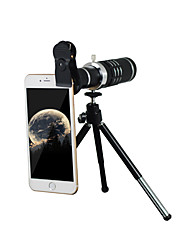 Mobile telescope 18x with 37MM mobile phone clip black