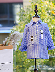 Girl's Polka Dots Dress,Cotton Autumn/Fall Summer Sleeveless