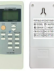 HA-9078E Replacement for Sharp Portable Air Conditioner Remote Control Model Number CRMC-A729JBEZ CRMC-A753JBEZ Works for CV-10MH CV-P10PC VD-3448