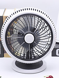Mini USB Fan Round Stable Stand and Adjustable Angles