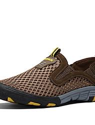 Homme Chaussures Tulle Eté Automne Confort Mocassins et Chaussons+D6148 Randonnée Pour Quotidien Sports Vêtements de Plein Air Gris