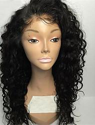 Parrucche piene naturali brasiliane del merletto dei capelli di 8 '' - 26''''sale naturale per le donne nere 8a parrucche piene incollate