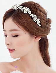 Rhinestone Imitation Pearl Headpiece-Wedding Special Occasion Tiaras Headbands 1 Piece New