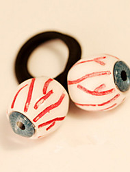 Hair Ties Halloween Jewelry Japanese Harajuku Eyes Bloodshot Elastic Headbands