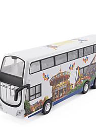 Машинки с инерционным механизмом Автобус Металл