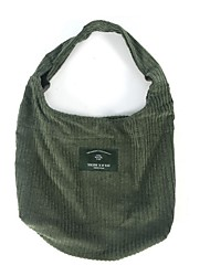 Women Shoulder Bag Suede All Seasons Casual Shopper Magnetic khaki Dark Green Black