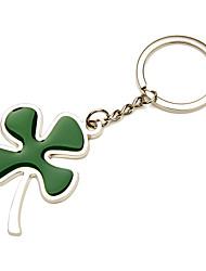 Aço Inoxidável Favors Chaveiros-1 Piece / Set Chaveiros Tema Floral Personalizado Verde