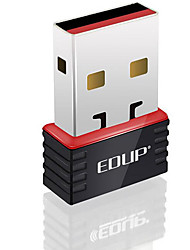 Edup usb wireless wifi adapter 150mbps mini wifi dongles rede lan card ep-n8508