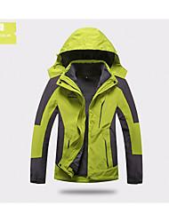 Per uomo Per donna Giacche 3-in-1 Tenere al caldo Resistente all'acqua Cursore doppio Intimo/Maglia Intima per Sci Primavera Inverno