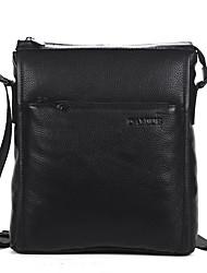 Men Business Crossbody Bag High Quality Cowhide Small Messenger Bag Vertical Man Shoulder Bags D90011-4