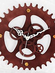 Rétro Bureau / Affaires Vacances Niches Mariage Horloge murale,Nouveauté Alliage de métal Intérieur Horloge