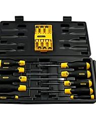Stanley Conjunto de conjuntos de chaves de fenda de 16 peças / 1 conjuntos