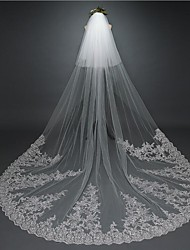 The New Style Elegant And Long Bridal Lace Veil