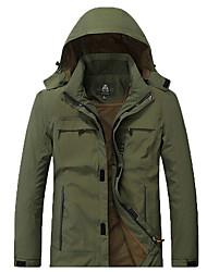 Муж. Жен. Куртка для туризма и прогулок Велоспорт Дождь Доказательство Брюки для Пешеходный туризм Походы Зима