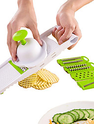 1PC Clever Kitchen Cutter 5 in 1 Stainless Fruits Vegetable Grater Cutter Machine Carrot Potato Slicer Chopper Crusher