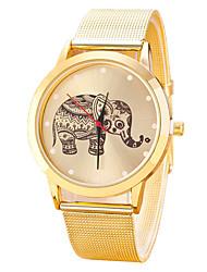 New Famous Brand Casual Elephant Quartz Watch Women Mesh Stainless Steel Dress Women Watches Relogio Feminino Clock Hot