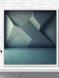 Abstract 3D Framed Art Wall Art,PS Material White No Mat With Frame For Home Decoration Frame Art