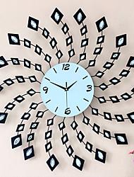 Moderno/Contemporâneo Florais/Botânicos Férias Inspiracional Família Amigos Desenho Animado Relógio de parede,Redonda Inovador