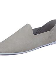 Для мужчин Мокасины и Свитер На каждый день Удобная обувь Мода Замша Весна Осень Повседневные Спорт Одежда для отдыха на природеНа каждый