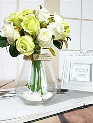 Свадебные цветы Букеты Свадебное белье Обручение Подарок Около 17 см