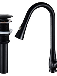 Ceramic ValveOil-rubbed Bronze , Kitchen faucet