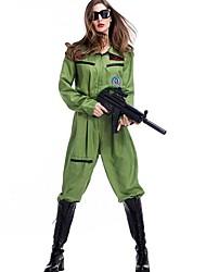 Costumes de Cosplay Policier/Policière Uniformes Costumes de carrière Fête / Célébration Déguisement d'Halloween MosaïquePlus