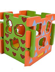 Конструкторы Игры с последовательностью Для получения подарка Конструкторы Хобби и досуг Квадратная Дерево 2-4 года 5-7 лет Игрушки