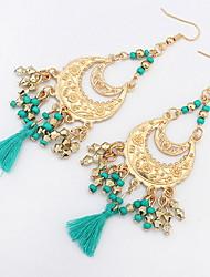 Women's Stud Earrings Drop Earrings Hoop Earrings JewelryBasic Unique Design Logo Style Pendant Tassel Friendship Religious Jewelry
