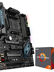 Ryron amd ryzen 7 1700x processador 8-core am4 interface 3.6ghz caixa x370 gaming pro carbon placa-mãe