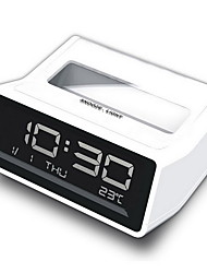 LED Desktop Electronic Clock Temperature Luminous Alarm Clock