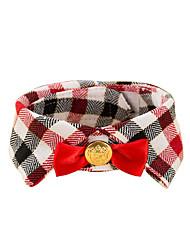 пояс/Бабочка Одежда для собак На каждый день Мода Английский Синий