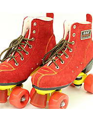 Adulte Patins à Roulettes Rouge