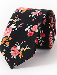 Fashion Floral Printing 6cm Narrow Version Of Casual Tie