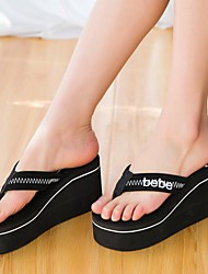 Women's Slippers & Flip-Flops Fabric Summer Creepers Black Ruby 2in-2 3/4in