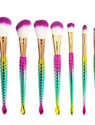 Rouge Pinsel Lidschatten Pinsel Wimpernbürste Grundlagen Pinsel Künstliches Haar Andere