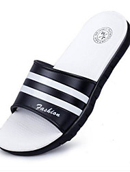 Men's Slippers & Flip-Flops PVC Summer Flat Heel White Flat