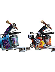 New Style Tattoo Machine 10 Wrap Coils Liner and Shader Tattoo Guns Supplies