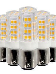 5W Ampoules Maïs LED 52 SMD 2835 400-500 lm Blanc Chaud Blanc Froid V 5 pièces