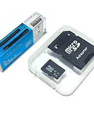 8gb microsdhc tf geheugenkaart met alles in één usb kaartlezer en sdhc sd adapter