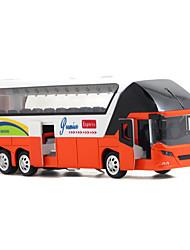 Carrinhos de Fricção Ônibus Liga de Metal