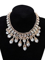 Choker Necklaces Lady Girls' Euramerican  Fashion  Elegant  Luxury Statement Party Wedding Rhinestone Necklaces  Movie Gift  Jewelry