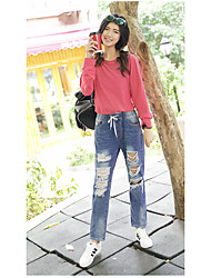 Women's Low Waist strenchy Shorts Pants,Chinoiserie Relaxed Solid