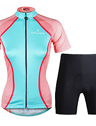 PaladinSport Women Cycyling Jersey  Shorts Suit DT754