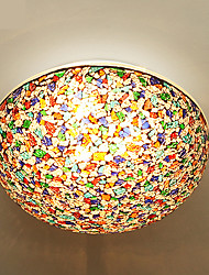 Flush Mount ,  Modern/Contemporary Painting Feature for LED Metal Bedroom Dining Room Study Room/Office Kids Room Entry 1 Bulb