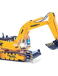 11 channel rc excavatorAdvanced remote control excavator vehicleCharging set electric engineering vehicles