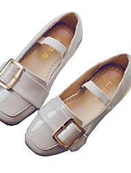 Fille Chaussures Bateau Chaussures de Demoiselle d'Honneur Fille Polyuréthane Automne Hiver DécontractéChaussures de Demoiselle d'Honneur