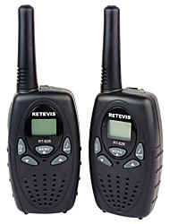 Retevis RT628 Kids Walkie Talkies 22 Channel FRS/GMRS UHF 462.550- 467.7125MHz 2 Way Radio Toy A Pair