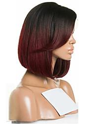 Ombre t1b / 99j parrucche vergini brasiliane capelli parrucche diritte parrucche per capelli parrucche per capelli parrucche verdi