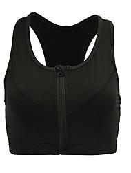 Per donna Reggiseni sportivi Asciugatura rapida per Yoga Corsa Esercizi di fitness Cotone Nero Blu e nero S M L XL XXL-XXXL